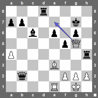 White does not capture a rook right away. Instead, he uses checks and captures the rooks whilst keeping the black king in check, ie. Qe7+ Kg8 Qxd8+ or Qe7+ Kh6 Qxh4+