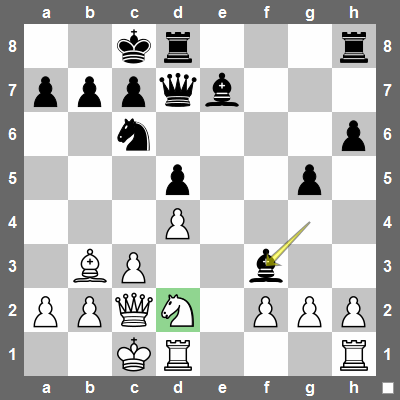 gxf3? would be a bad choice because f2 and f3 would become a weakness - an isolated double-pawn.