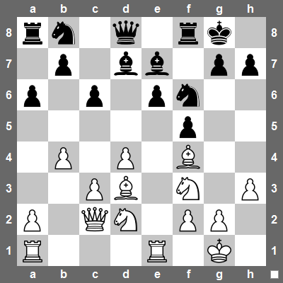 Can you see why white has a better pawn-structure?