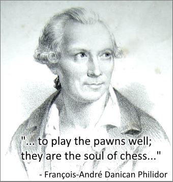 Why are pawns important in chess?