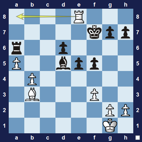Unusual and instructive chess tactics 1 solution