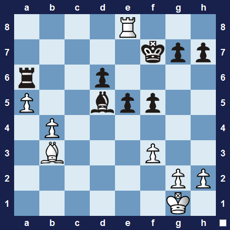 Unusual and instructive chess tactics 1