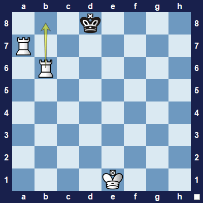 This move would checkmate black's king.