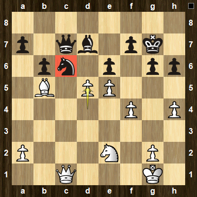 advanced chess tactics pins puzzle 1 solution