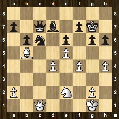 advanced chess tactics pins puzzle 1