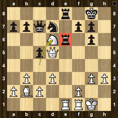 advanced chess tactics pins puzzle 2 solution