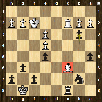 advanced chess tactics pins puzzle 4 solution