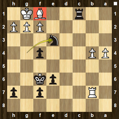 advanced chess tactics pins puzzle 5 solution