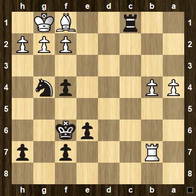 advanced chess tactics pins puzzle 5