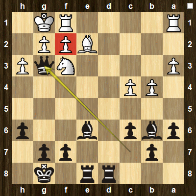 easy pin tactics puzzle 1 solution
