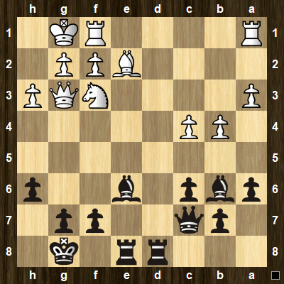 easy pin tactics puzzle 1
