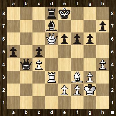 easy pin tactics puzzle 3