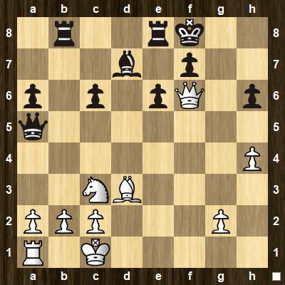 easy pin tactics puzzle 4