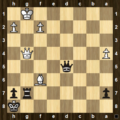 easy pin tactics puzzle 5