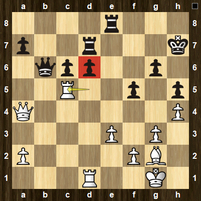 intermediate chess tactics pins puzzle 3 solution