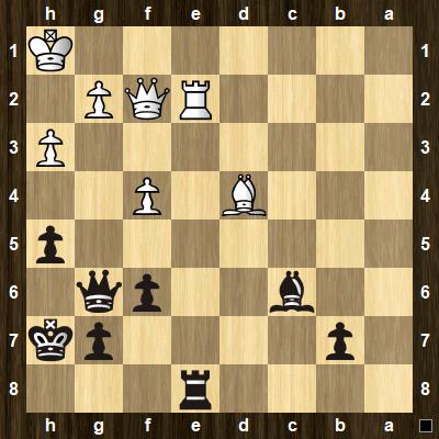 intermediate chess tactics pins puzzle 4
