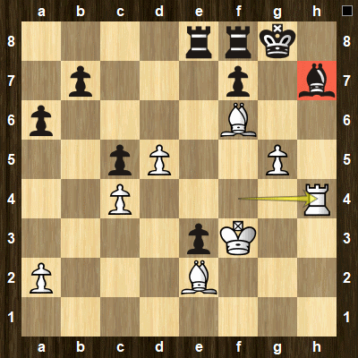 intermediate chess tactics pins puzzle 5 solution