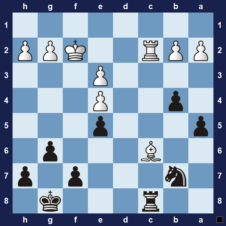 advanced chess tactics pins puzzle 4b