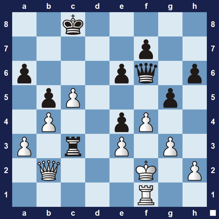 easy pin tactics puzzle 2b