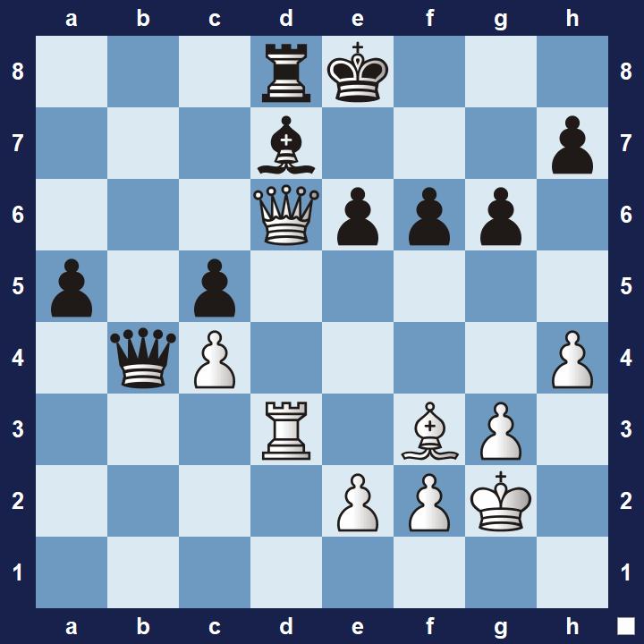 easy pin tactics puzzle 3b