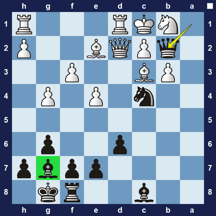 easy chess tactics puzzle 1 solution