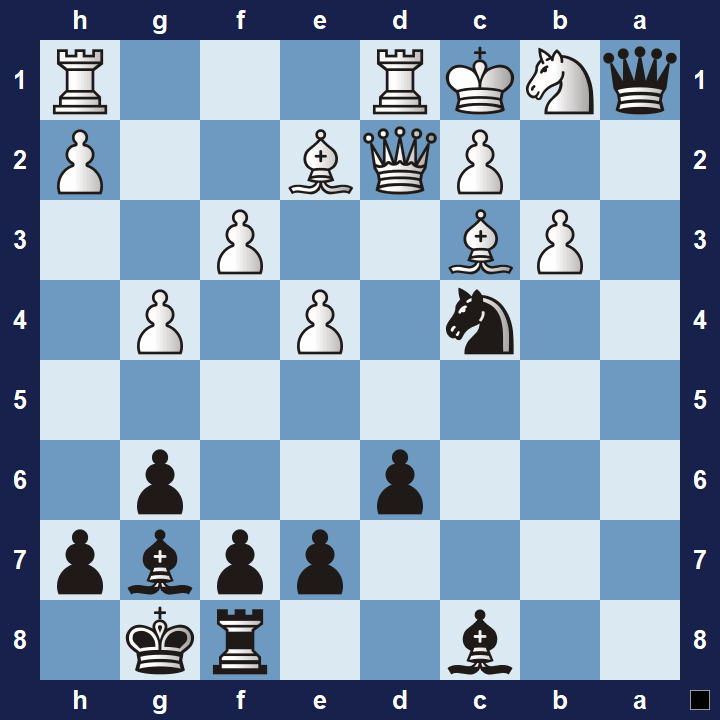 easy chess tactics puzzle