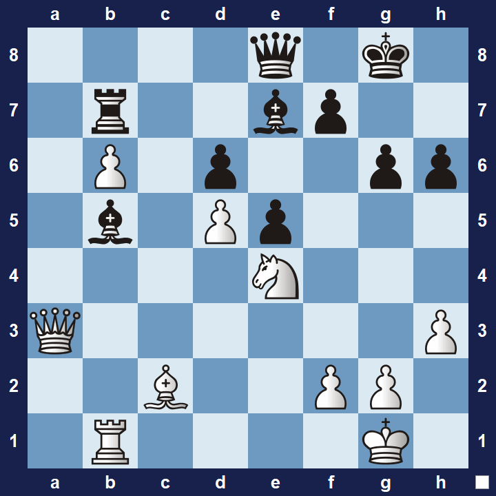 easy chess tactics puzzle 2