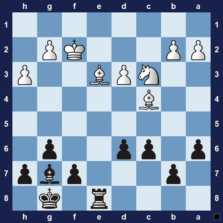 intermediate chess puzzle pawn tactics 1