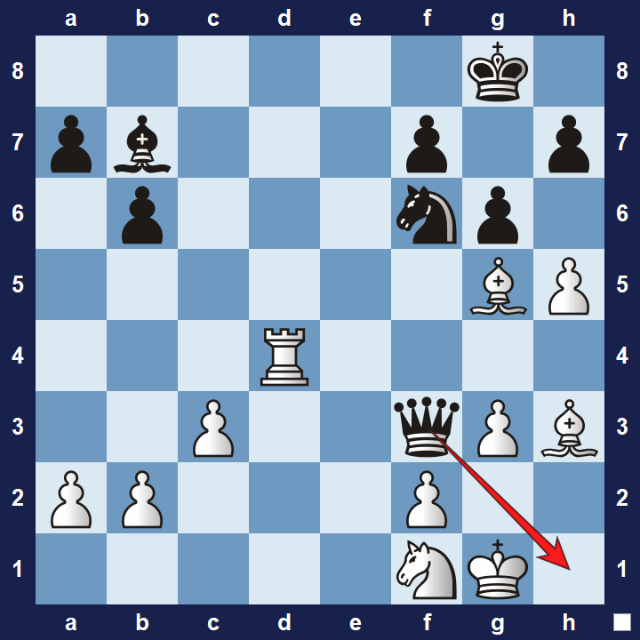intermediate chess puzzle pawn tactics 2