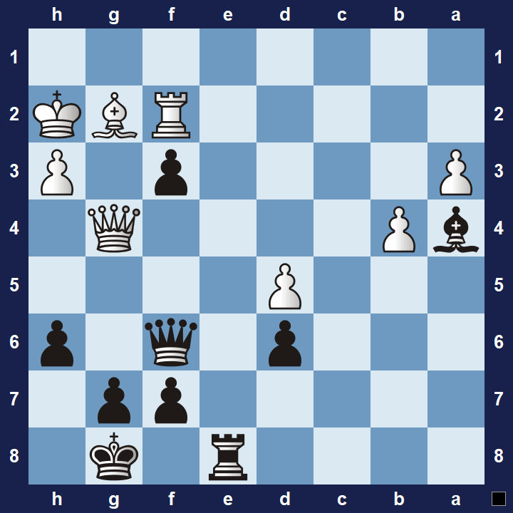 intermediate chess puzzles zwichenzug 1