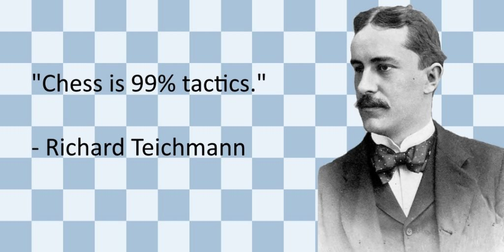 chess is 99 tactics