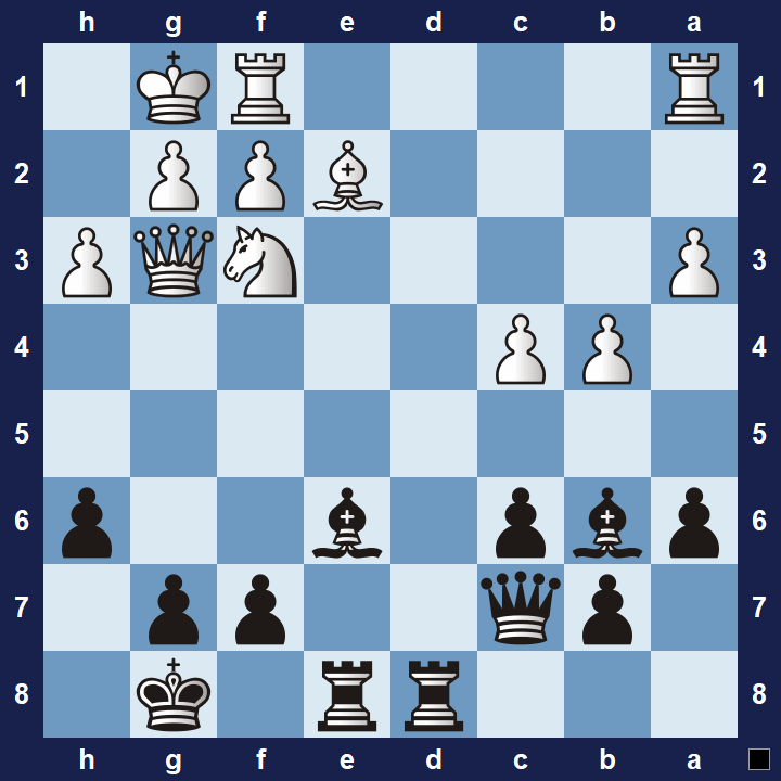 Chess tactics trainer exercise 1