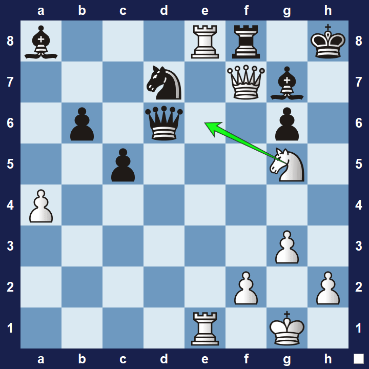 tactics exercise 13 solution