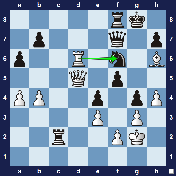 tactics exercise 34 solution