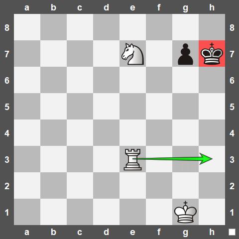 Anastasia's Checkmate