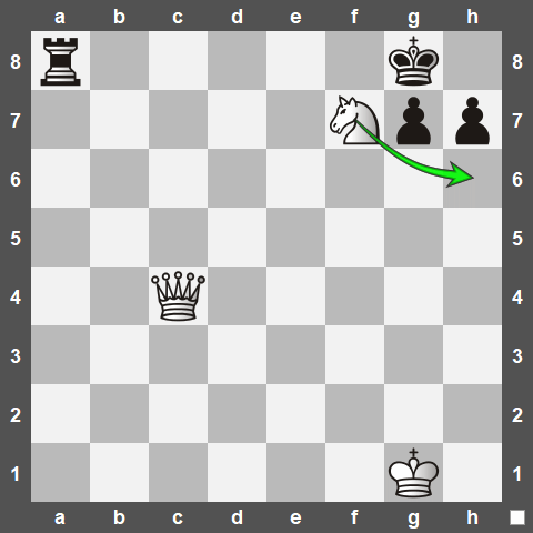 How Smothered Mate is Typically Executed
