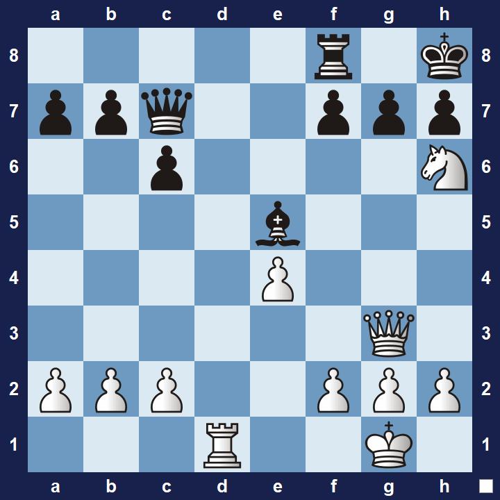 Chess Tactics Quiz Puzzle #7