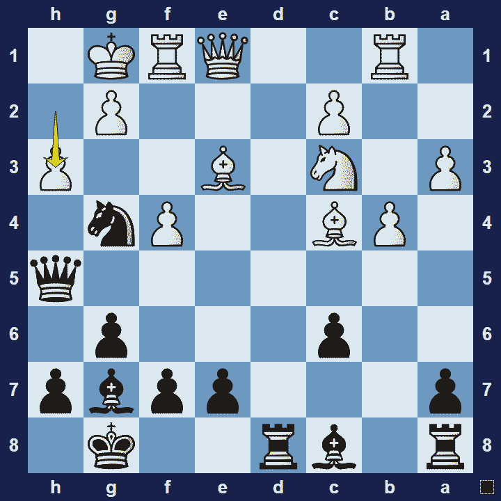 Chess piece interactions - block checkmate