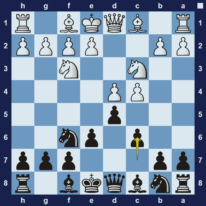 Example of a Positional Opening - QGD Semi-slav