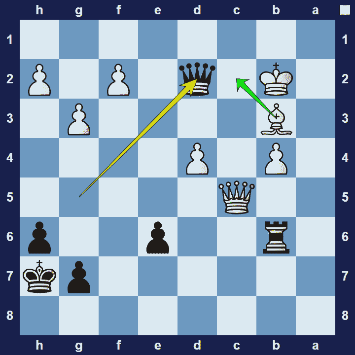 cross check chess tactic