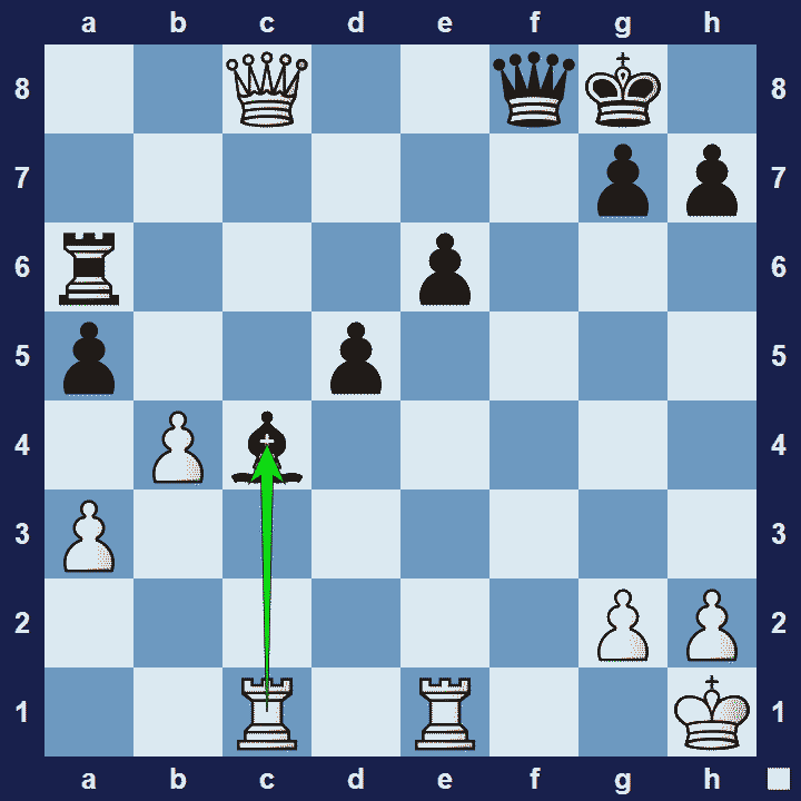 hit and run chess tactic
