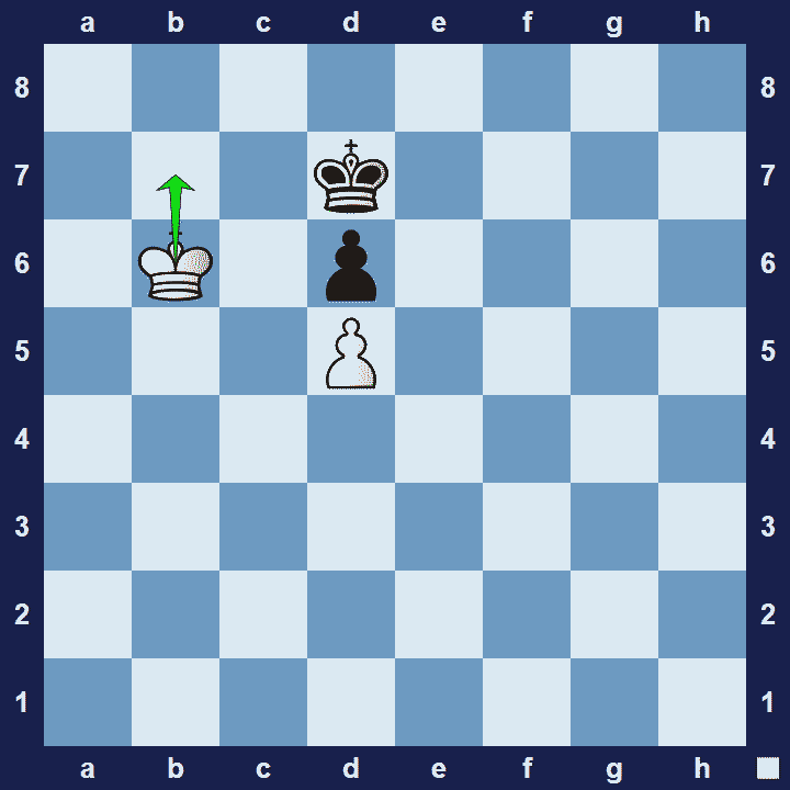 opposition chess tactic